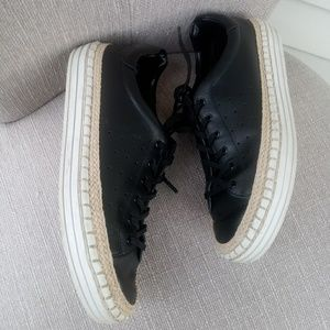 Sam Edelman Black Sneakers